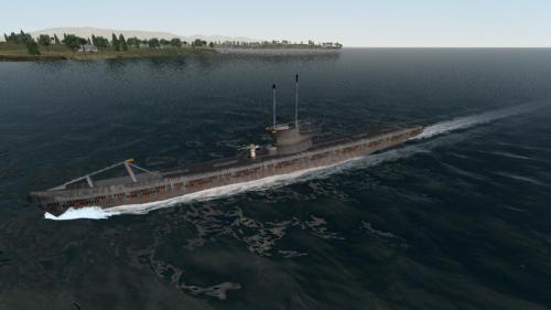 type vii  boat german navy virtualtechart design